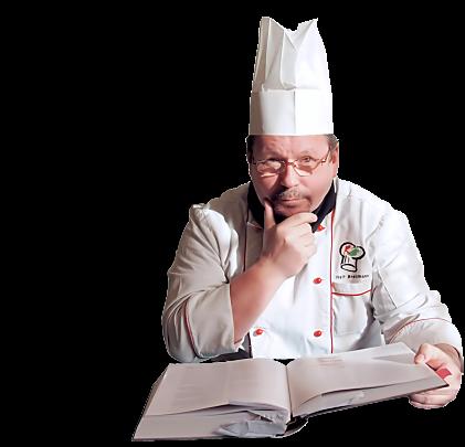 Köchin bei der arbeit  Ausbildung zum Koch, zur Köchin